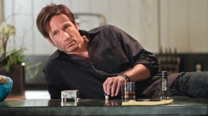 """Wine is fine, but whiskey is quicker."" - Hank Moody"