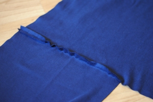 I also flatten the seam after straight stitching to then zigzag on top for strength and comfort.